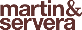 Martin&Servera . Martin&Servera . Graphic Identity with Lewander&Co. 2013.